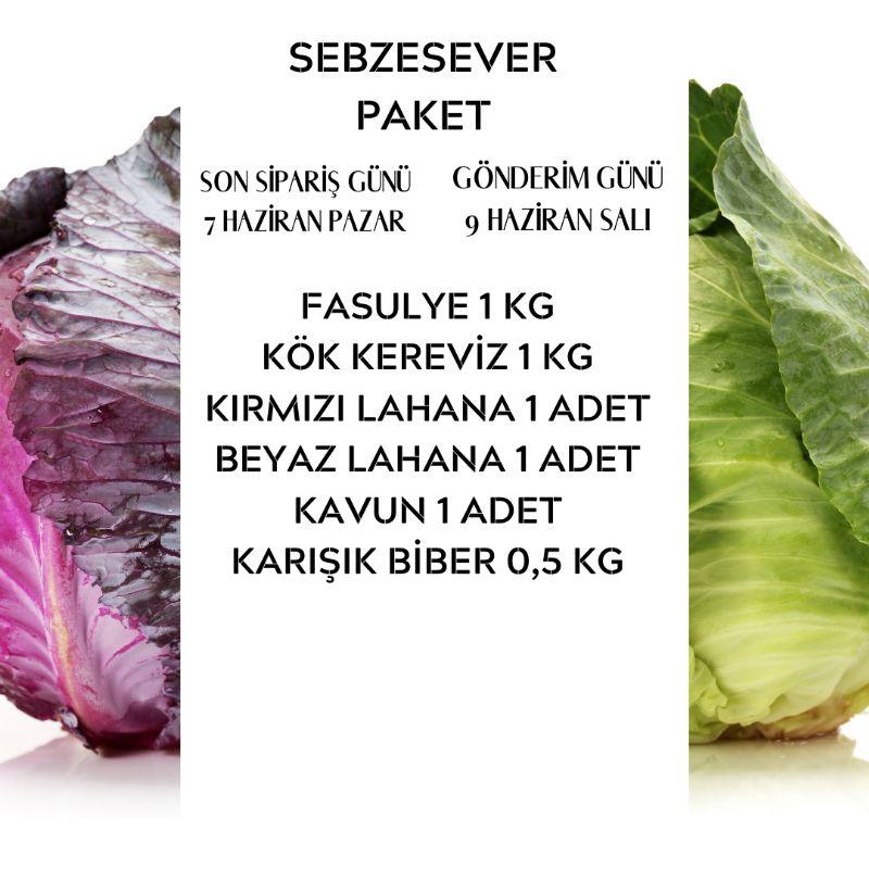 SebzeSever Paket