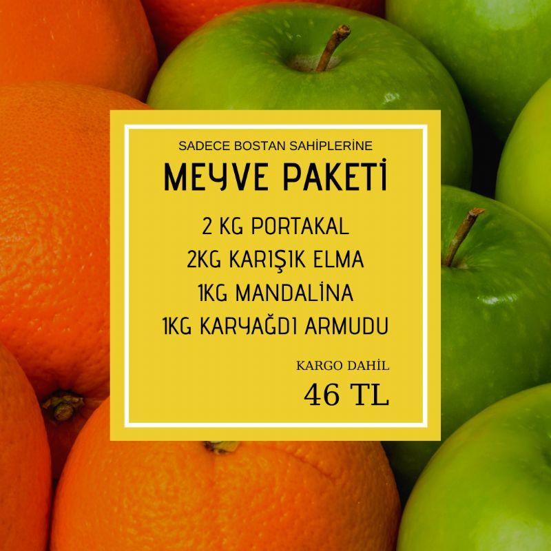 Bostan Sahiplerine Özel Meyve Paketi